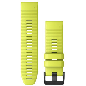Garmin QuickFit Silicone Watch Band 26mm for Fenix 6X neon yellow